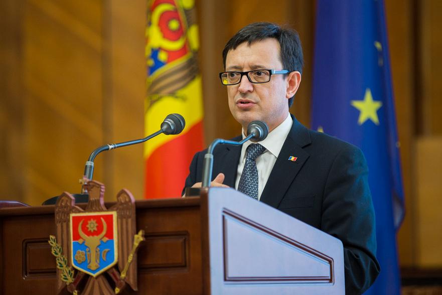 Octavian Armaşu, ministrul Finanţelor din R. Moldova