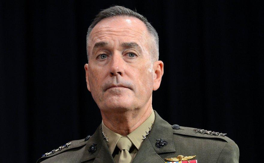 Şefului Statului Major al armatei americane, generalul Joseph Dunford.