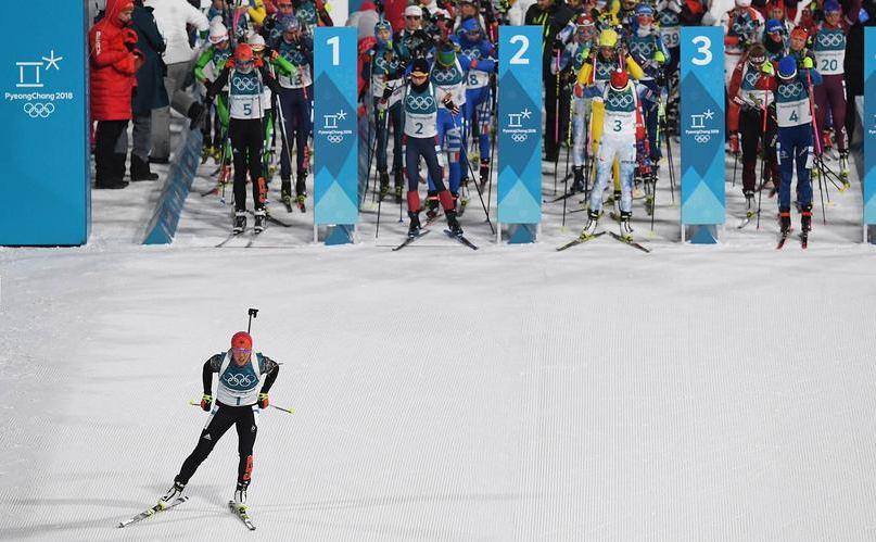 Laura Dahlmeier face istorie la biatlonul olipmic câştigând a doua medalie de aur în 2 zile