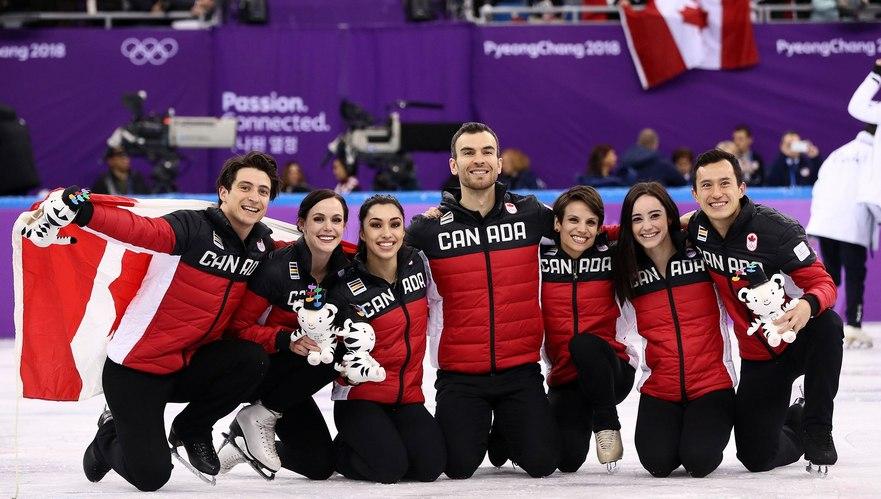 Canada cucereşte medalia de aur în concursul de patinaj artistic pe echipe din cadrul Jocurilor Olimpice de iarnă ediţia 2018
