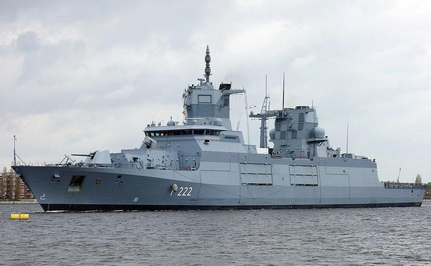 Fregată germană din clasa F222 Baden-Württemberg