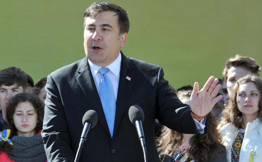 Fostul preşedinte georgian Mihail Saakaşvili
