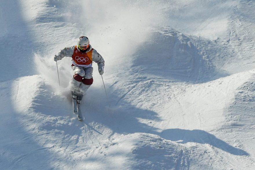 Canadianul Mikael Kingsbury, a câştigat titlul olimpic şi medalia de aur la schi acrobatic (movile), luni, la Pyeongchang