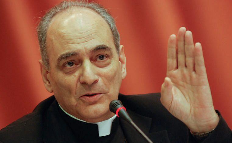 Episcopul Marcelo Sanchez Sorondo de la Vatican