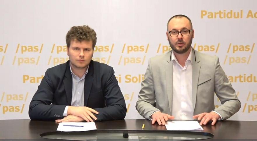 Dan Perciun şi Sergiu Litvinenco, membri PAS