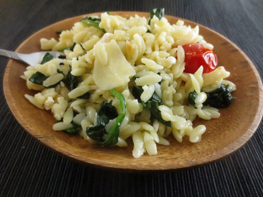 Paste cu spanac şi brânză