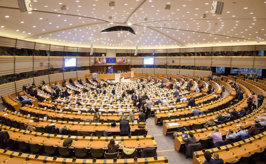Parlamentul European - camera de plen