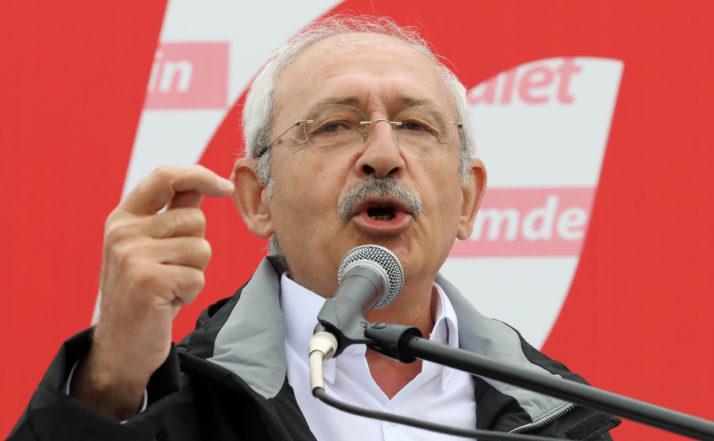 Kemal Kılıçdaroğlu, liderul Partidul Republican al Poporului (CHP) din Turcia