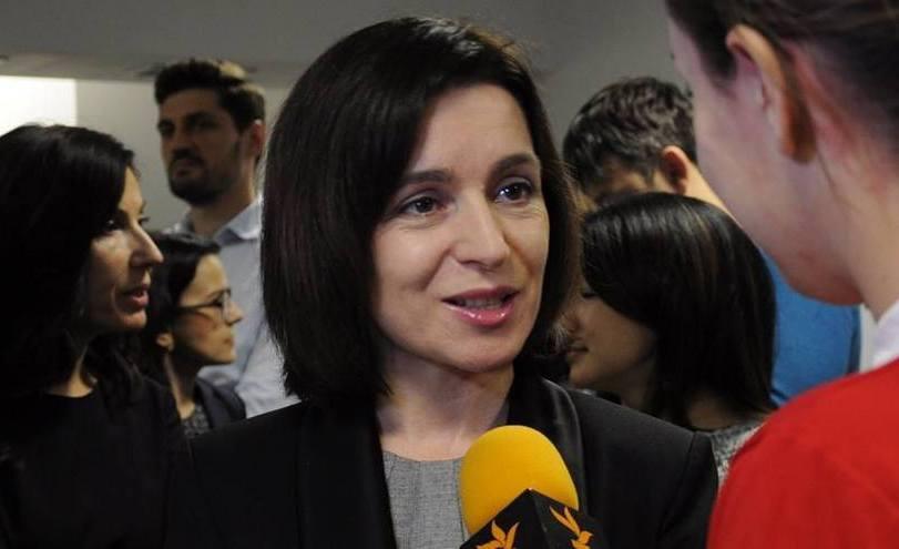 Maia Sandu, preşedinta PAS