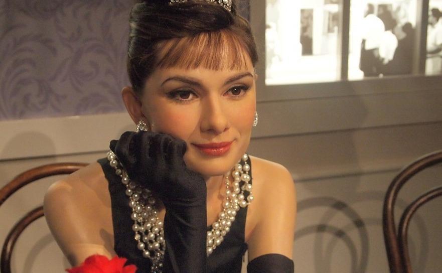 Celebra actriţă Audrey Hepburn