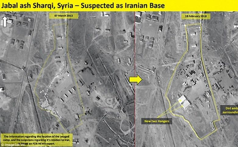 Bază iraniană în Siria, lângă Damasc