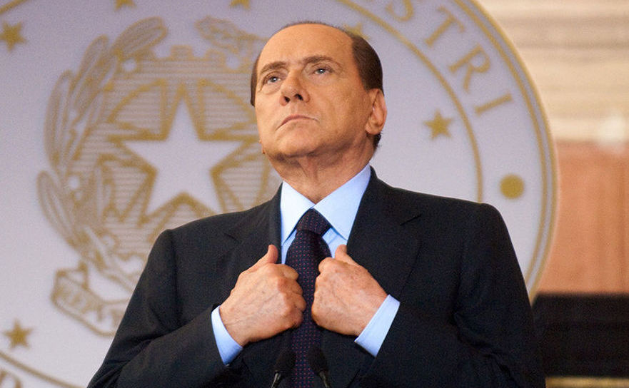 Fostul premier italian Silvio Berlusconi