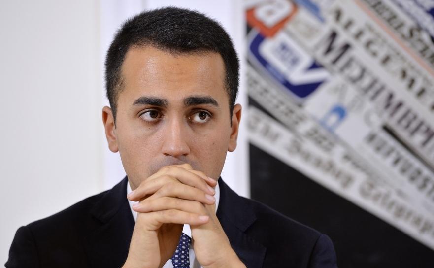 Luigi Di Maio, liderul Mişcării Cinci Stele din Italia.