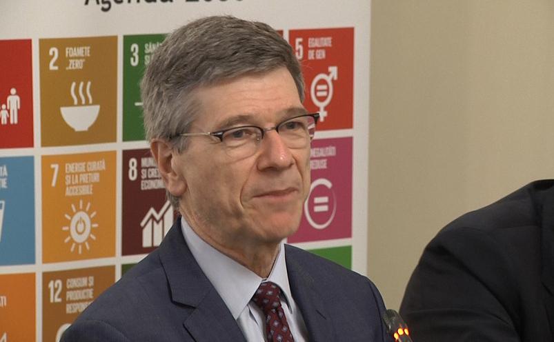 Jeffrey Sachs la Bucureşti