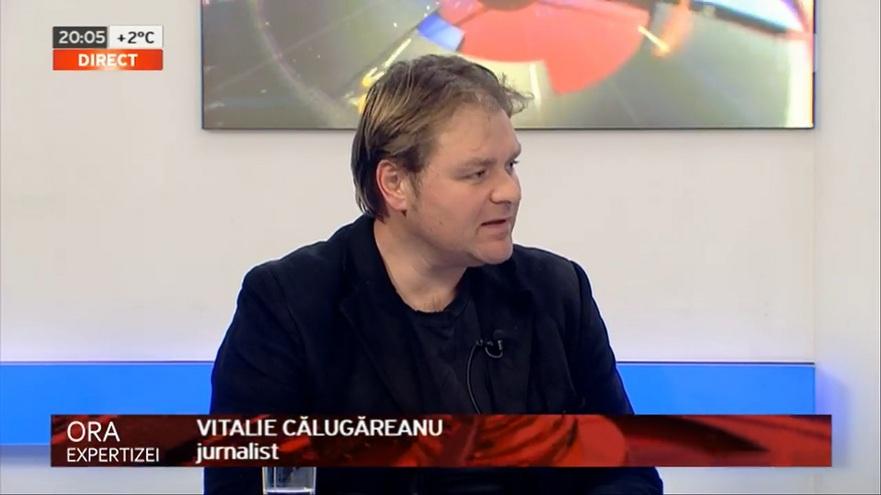 Vitalie Călugăreanu,corespondent Deutsche Welle