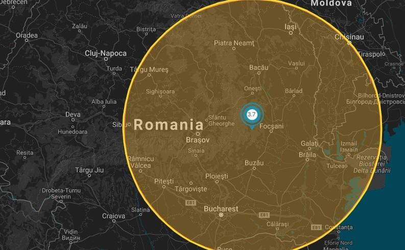 Cutremurul resimţit la Bucureşti, 14 martie 2018