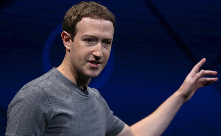 Fondatorul Facebook, Mark Zuckerberg