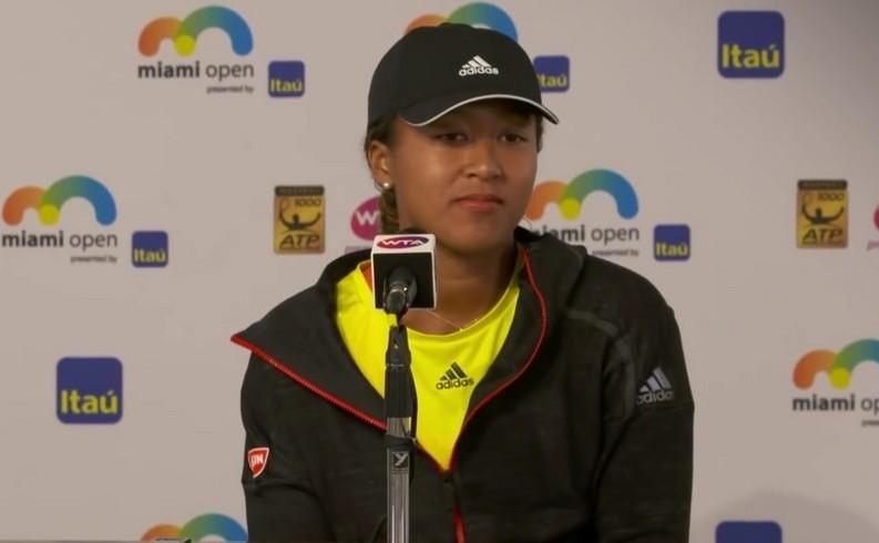 Jucătoarea japoneză de tenis Naomi Osaka.