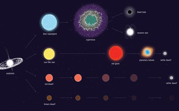 Evoluţia stelelor