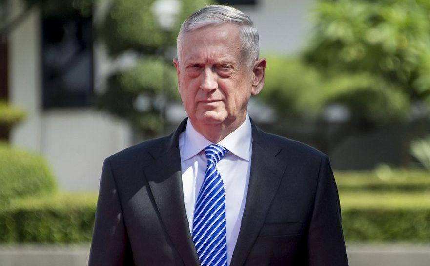 Secretarul american al apărării James Mattis