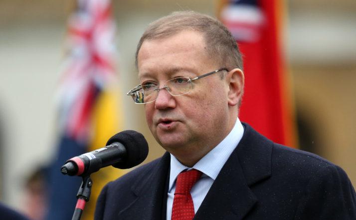 Ambasadorul rus în Marea Britanie, Alexander Iakovenko