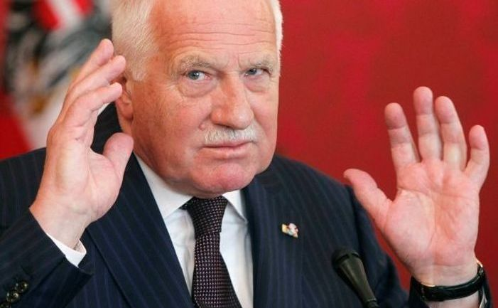 Fostul preşedinte ceh Václav Klaus