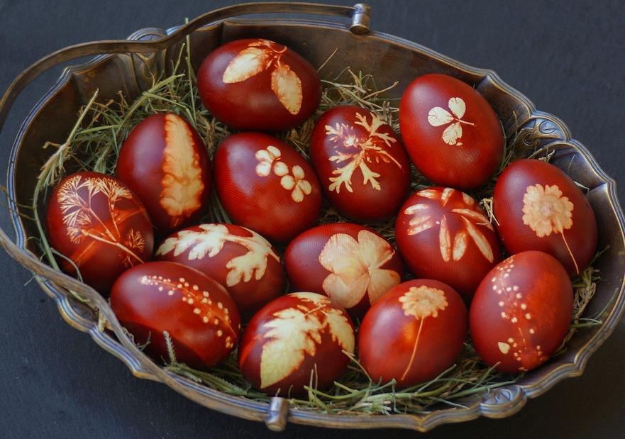 Ouă încondeiate de Paşti