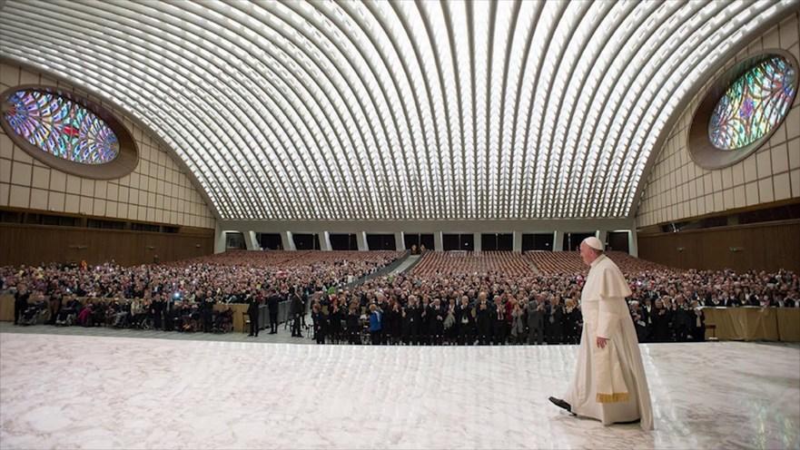 Sala de conferinţe Papa Paul al VI-lea, Vatican