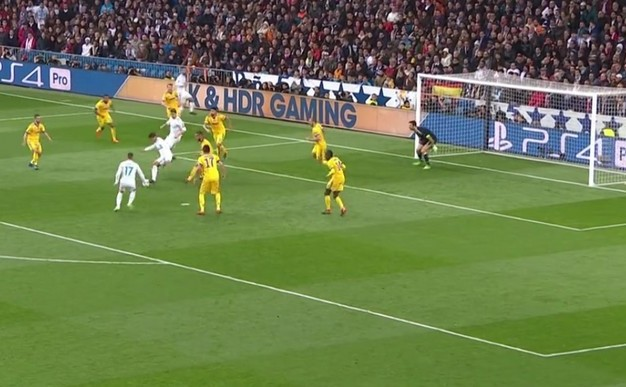 Real Madrid - Juventus Torino 1-3, în  manşa a doua a sfertului de finală a UCL.