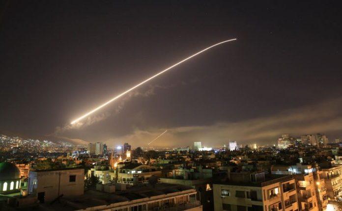 Atac al coaliţiei americane asupra Siriei, 13 aprilie 2017