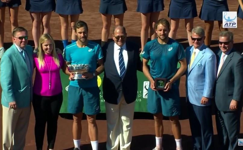 Jucătorul american de tenis Steve Johnson.