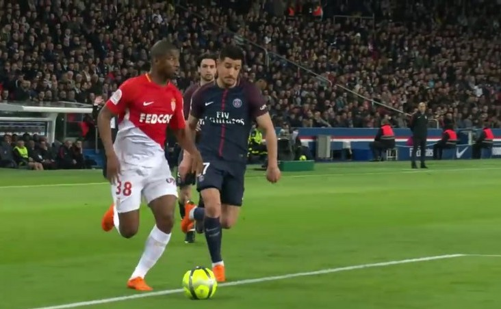 Paris Saint-Germain - AS   Monaco 7-1,  în ultimul meci din etapa a 33-a din  Ligue 1.