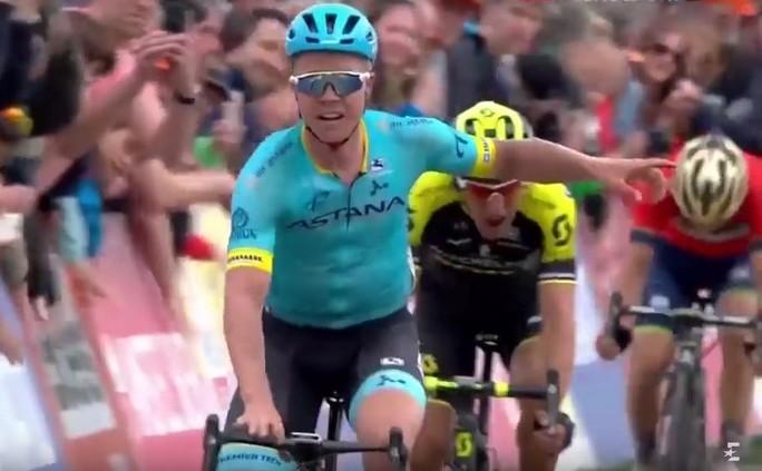 Ciclistul danez Michael Valgren (Astana).