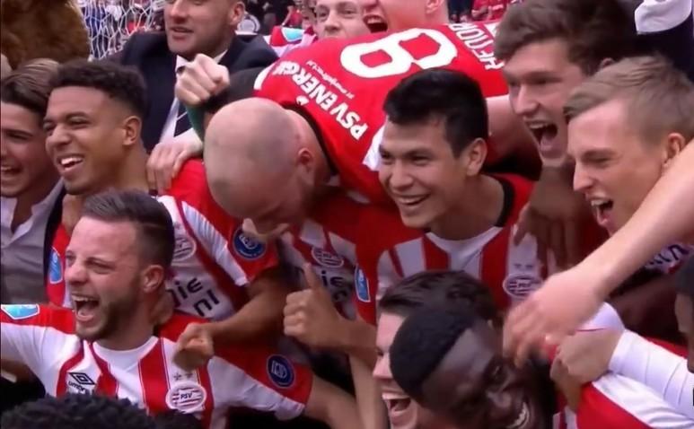 Echipa PSV Eindhoven este noua campioană a Olandei.