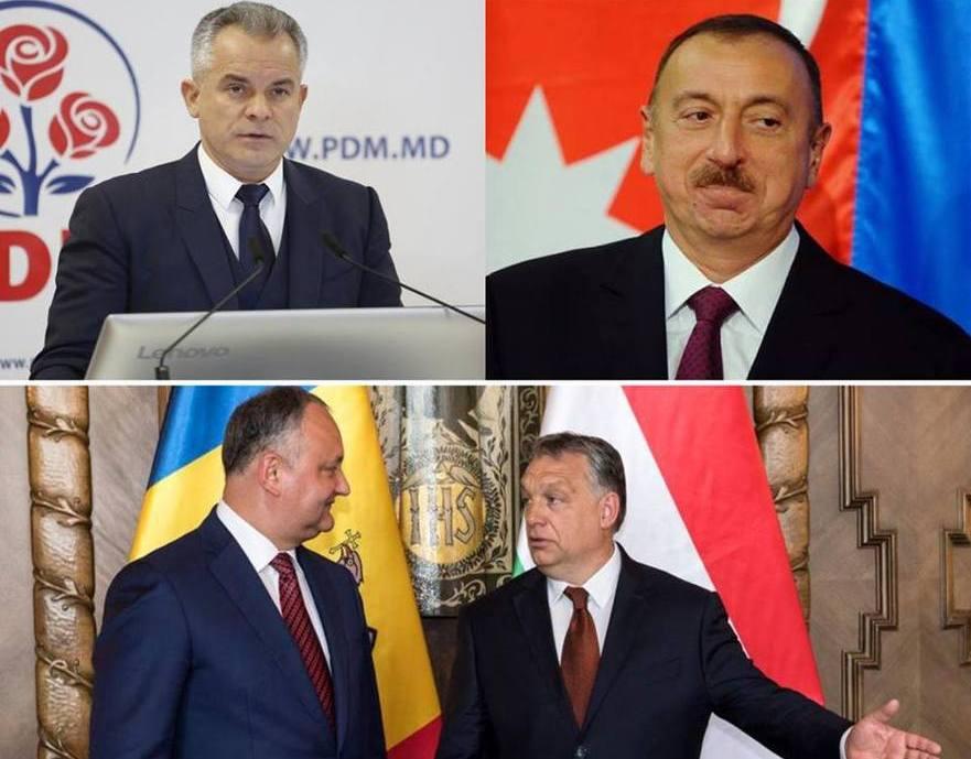 Dodon l-a felicitat pe Orban, iar Plahotniuc pe Aliev.
