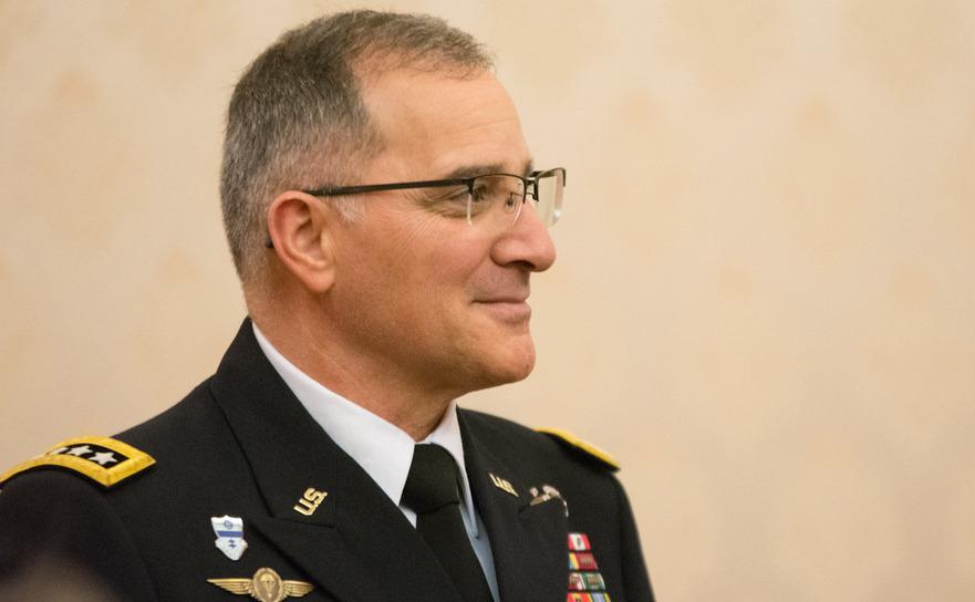 Curtis Scaparrotti(Comandantul NATO in Europa)