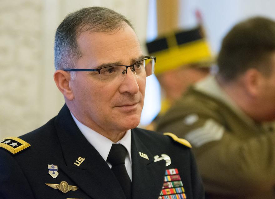 Curtis Scaparrotti, comandantul NATO în Europa