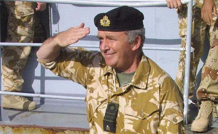Fostul amiral al Marinei britanice Lord West