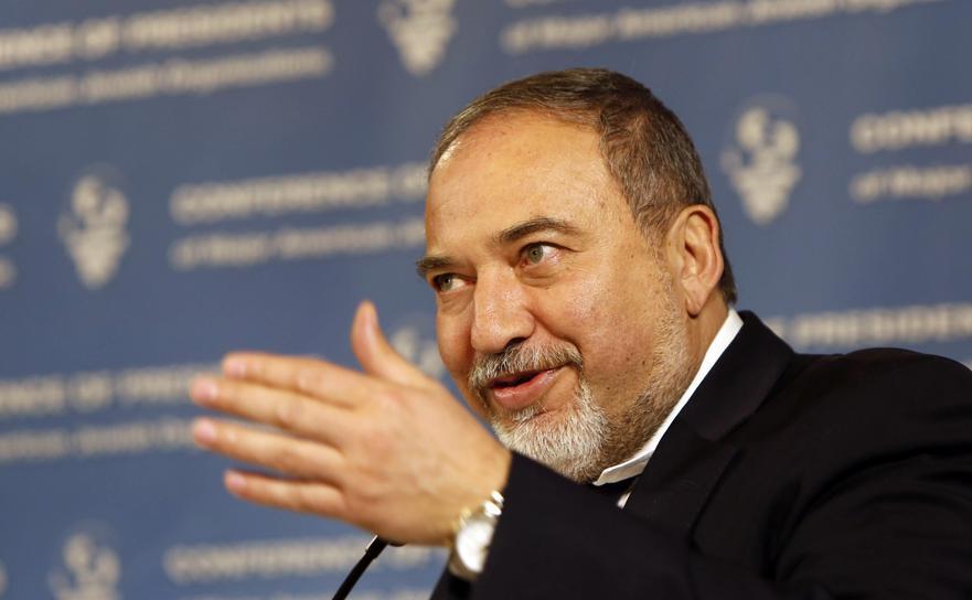 Ministrul israelian al Apărării, Avigdor Lieberman
