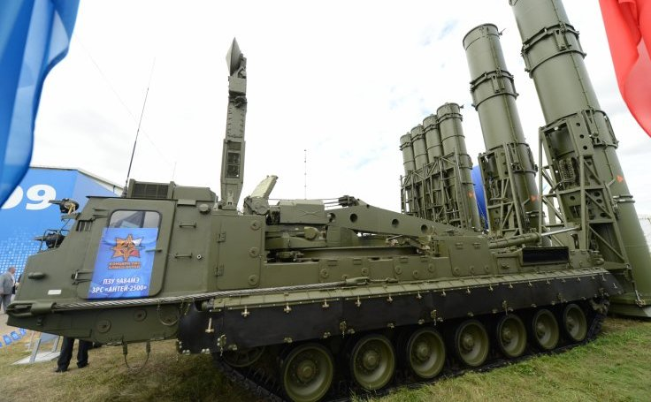 Sistem antirachetă rusesc S-300 VM.