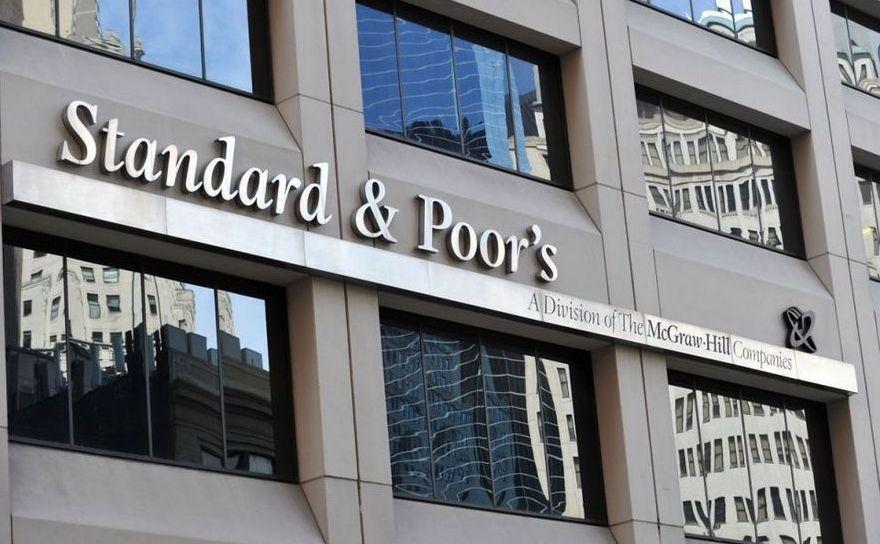 Logo-ul agenţiei de rating Standard & Poor's