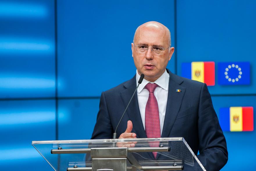 Prim-ministrul RM, Pavel Filip, la Bruxelles