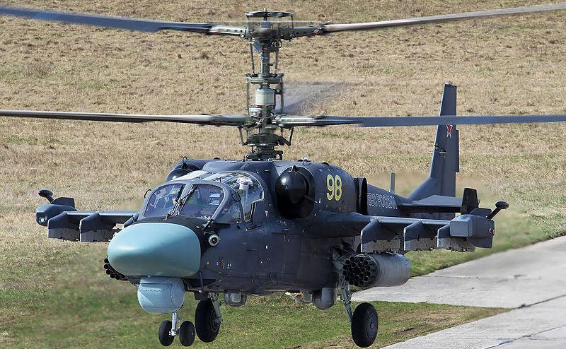 Elicopter de luptă rusesc Ka-52