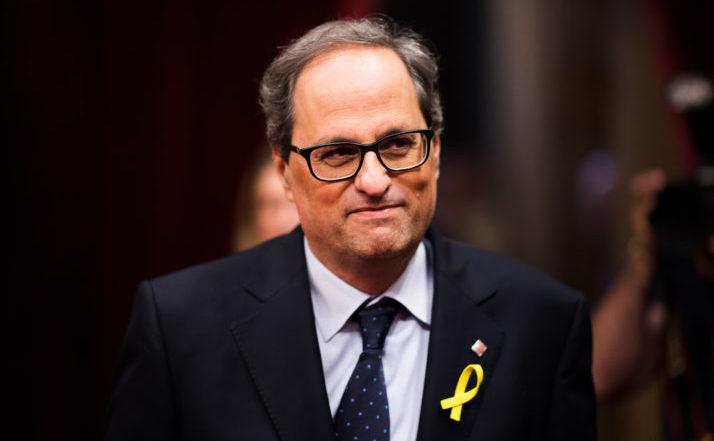 Quim Torra, noul lider regional al Cataloniei