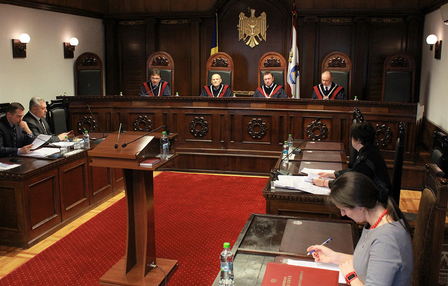 Judecătorii Curţii Constituţionale a Moldovei