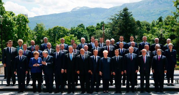 Summitul de la Sofia, 17 mai 2018