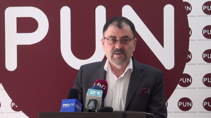 Anatol Şalaru, preşedintele Partidului Unităţii Naţionale