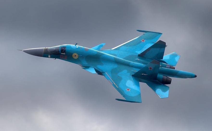 Avion de luptă rusesc Suhoi Su-34