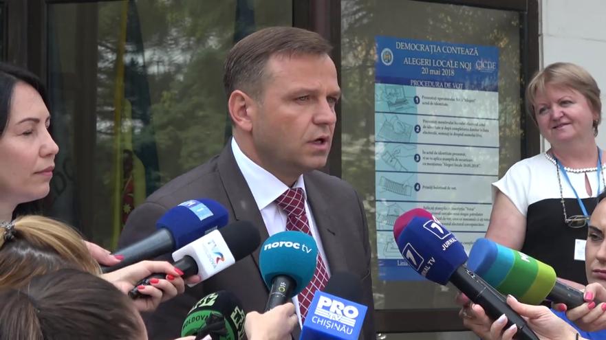 Andrei Năstase, turul doi de alegeri, Chişinău 3 iunie