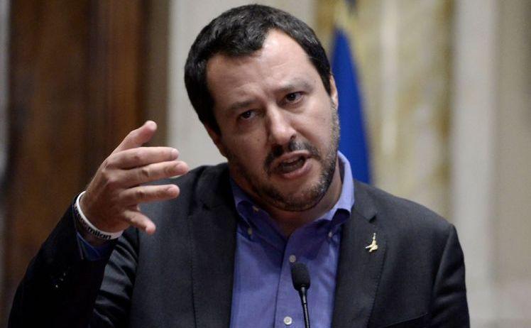 Noul ministrul italian de Interne, Matteo Salvini